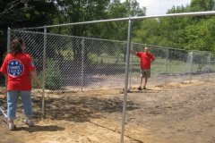 Lowe\'s Donates Dog Exercise Area